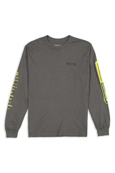 Post Malone Posty Co. Tour LS Tee Grey
