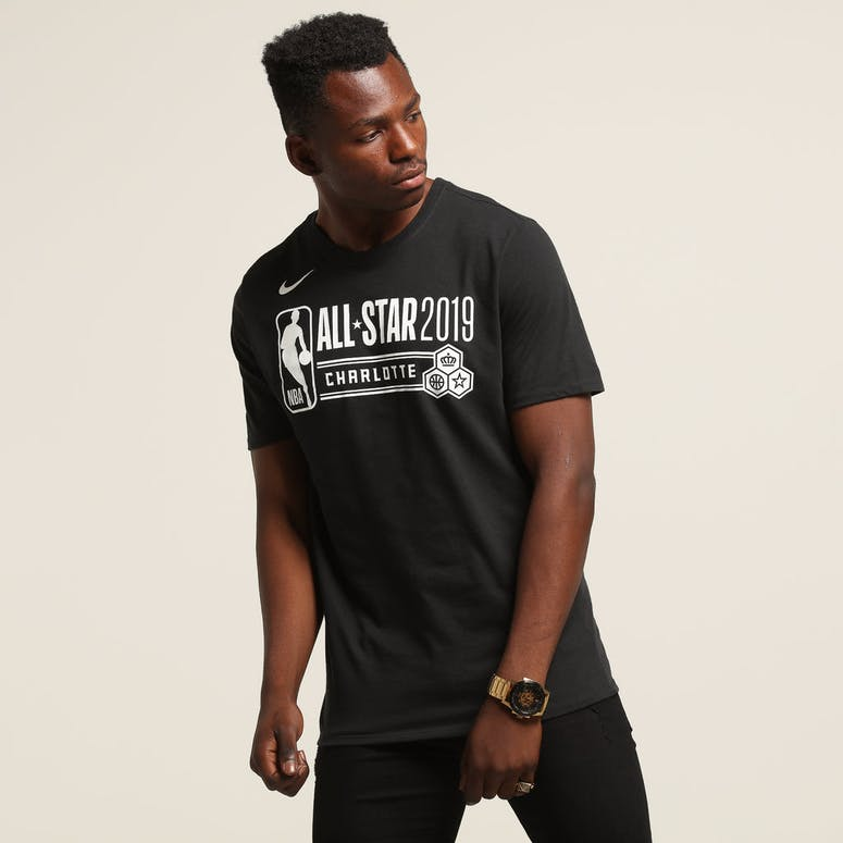 Nike NBA ASW All Star Logo Dry Tee Black