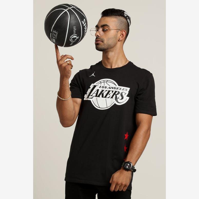 485172ceb14 Nike NBA ASW Los Angeles Lakes Lebron James All Star Logo Dry Tee Black