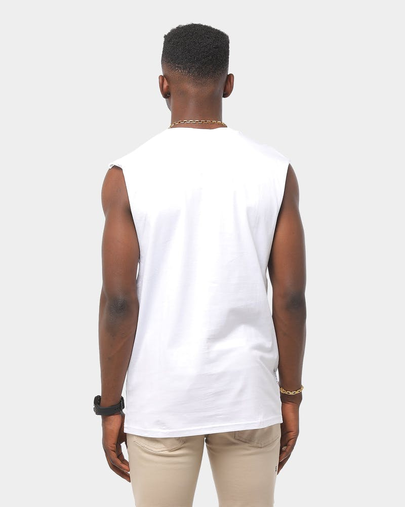 Saint Morta Future Oversized Muscle White