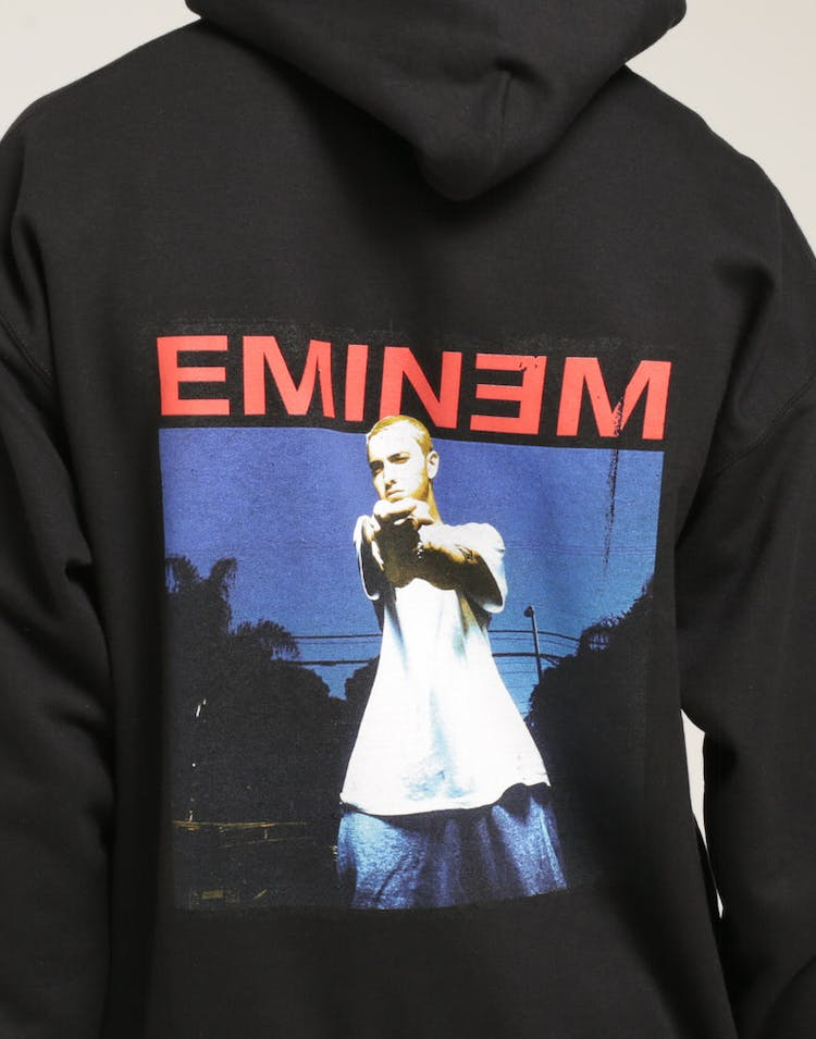 Eminem Photo Hoodie Black