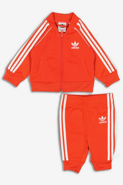 Adidas Kids Superstar Suit Burnt Orange