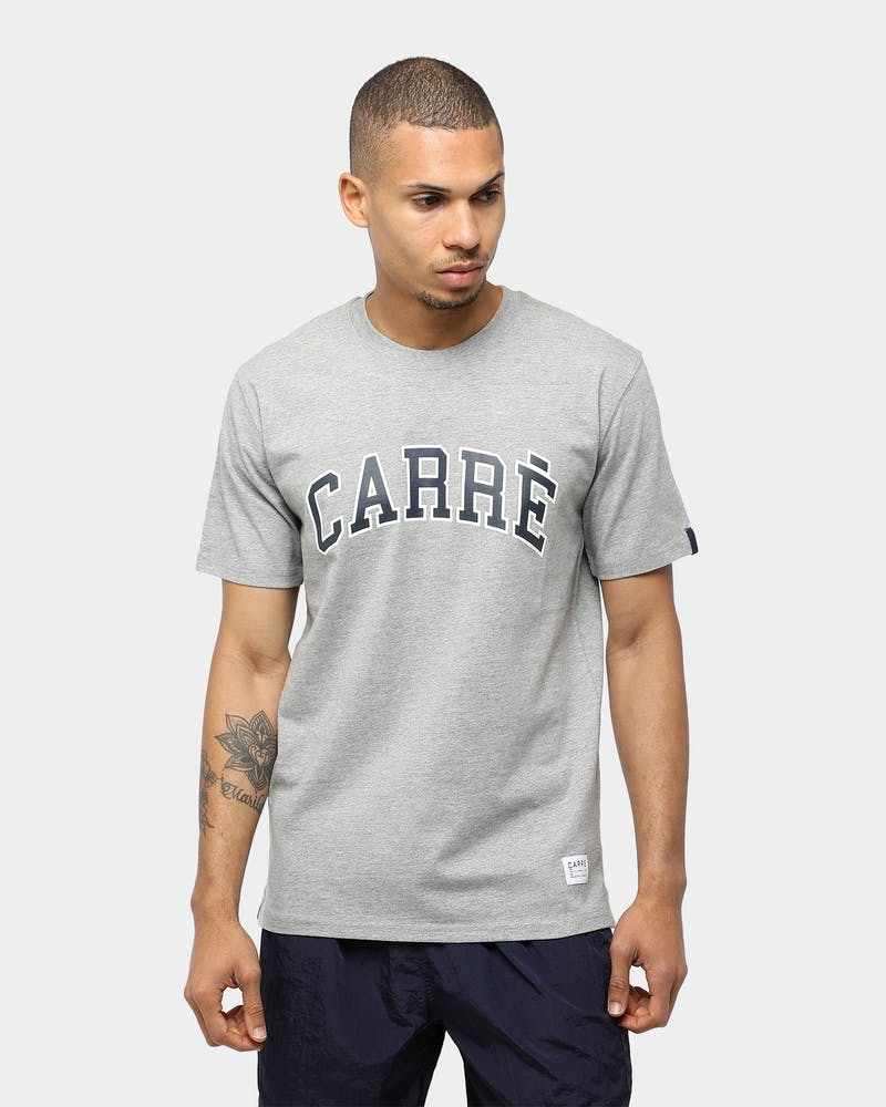 Carré Classique SS Tee Grey Marle