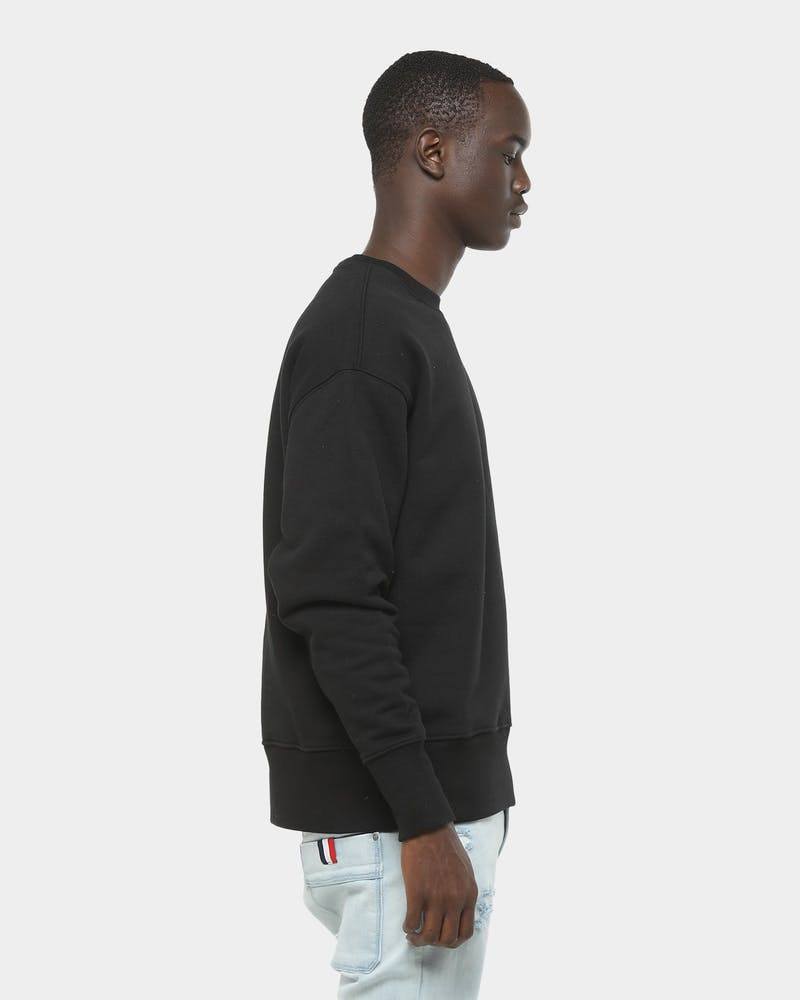 Tommy Jeans TJM Tommy Badge Crew Tommy Black