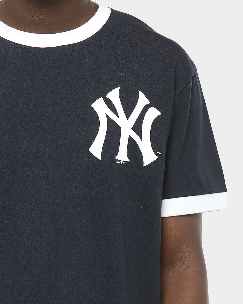 Majestic Athletic New York Yankees Ringer Tee Navy