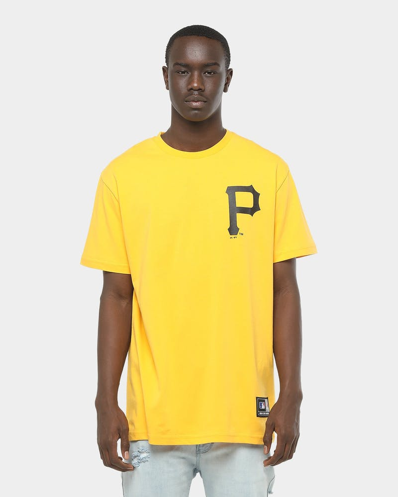 Majestic Athletic Pittsburgh Pirates Jeaner Tee Citrus