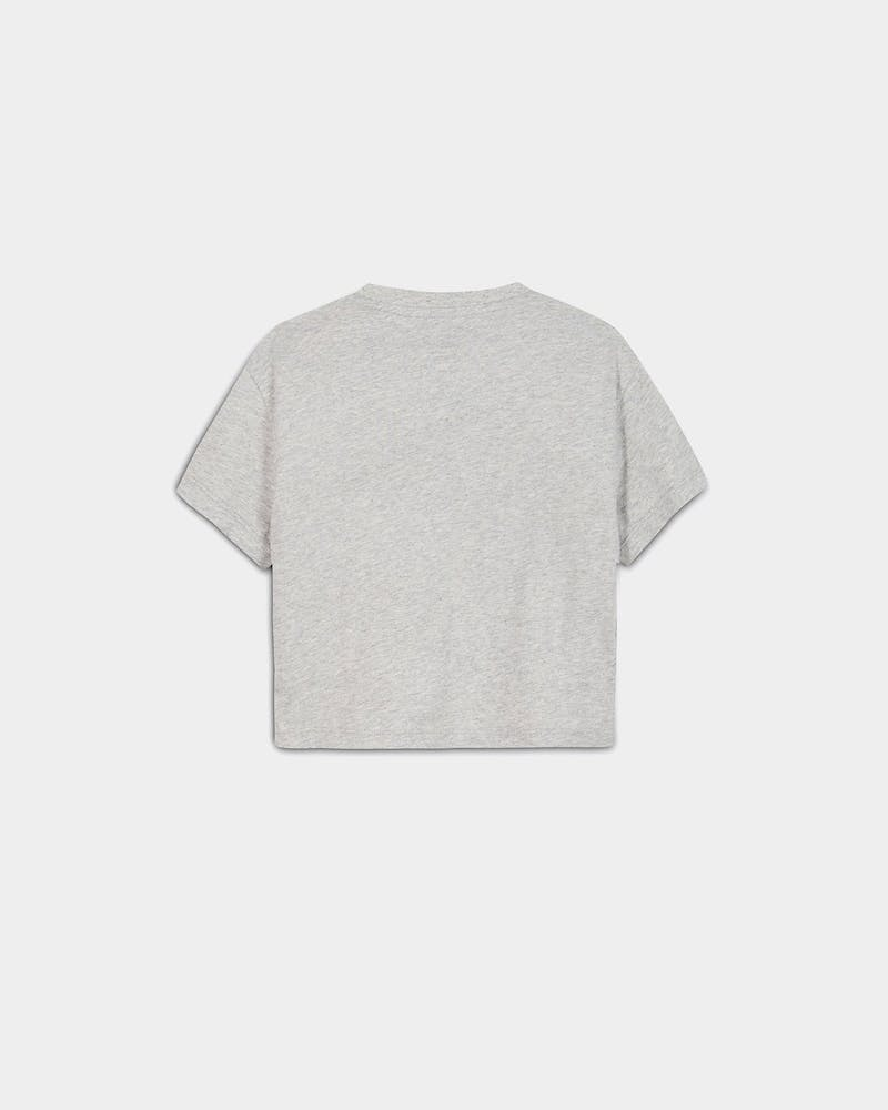 Tommy Jeans Kids TJ Girls T-Shirt Light Grey Heather