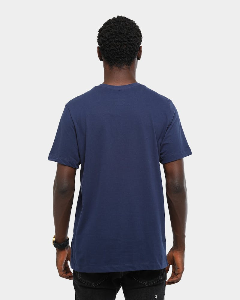 NIKE 76ERS CITY EDITION DRI-FIT TEE NAVY