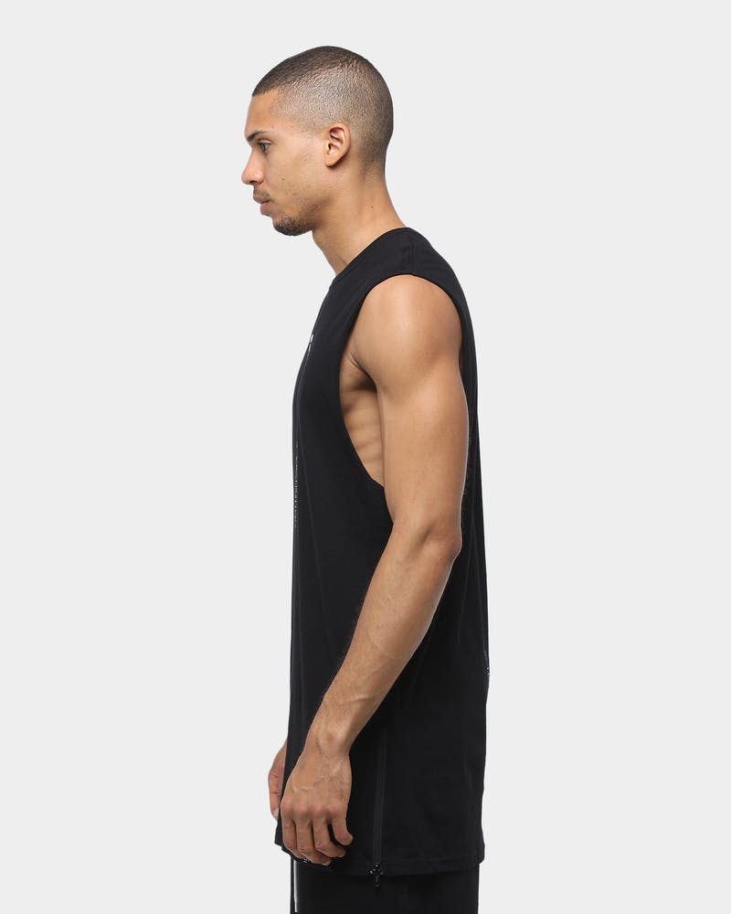 Carré Rev Repeat Muscle Tee Black