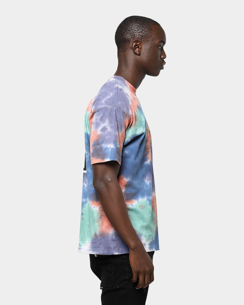 Obey Eyes Icon Tie Dye S/S Tee Iris Blotch