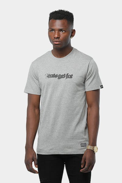 Rats Get Fat Guard Dog SS Tee Grey