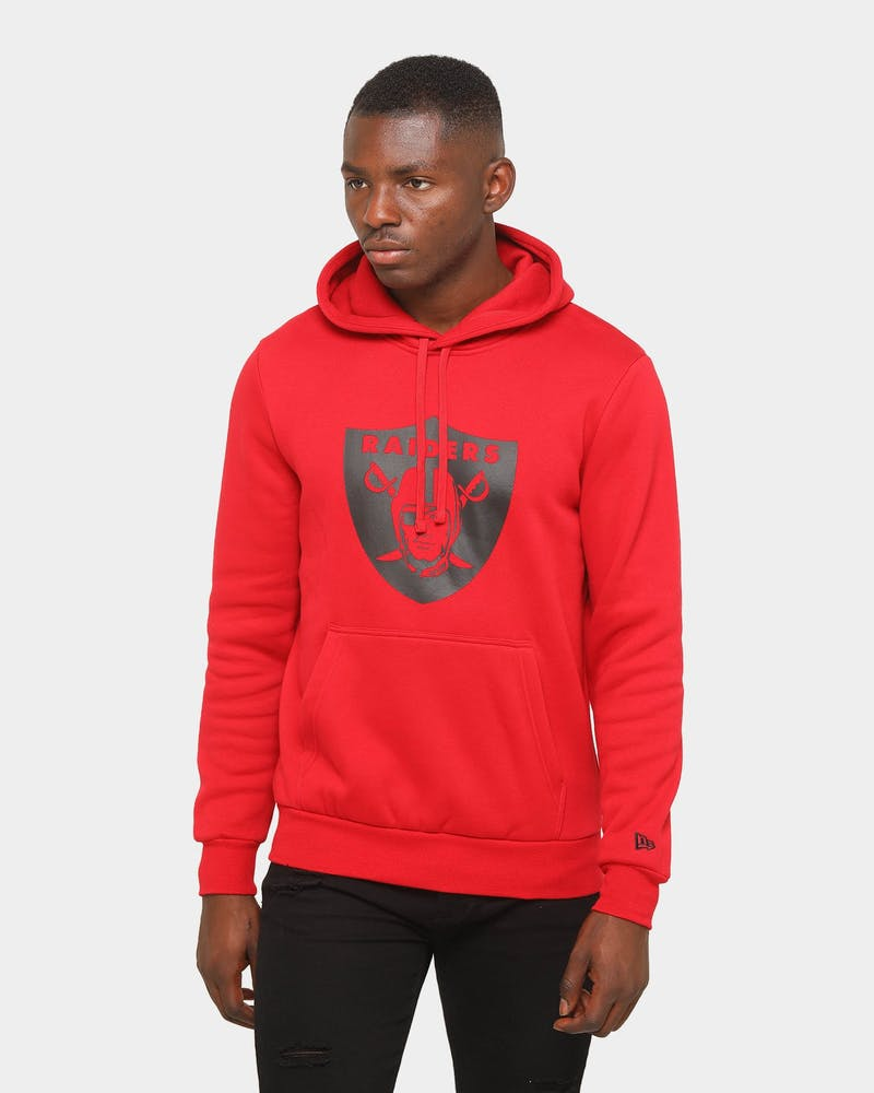 New Era Raiders Seasonal Essential League Hoodie Scarlet