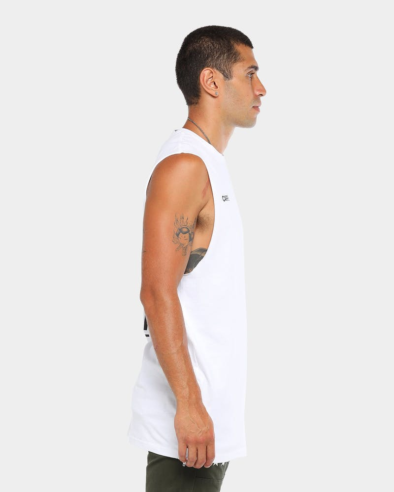 Carré Principle Capone Muscle Tee White