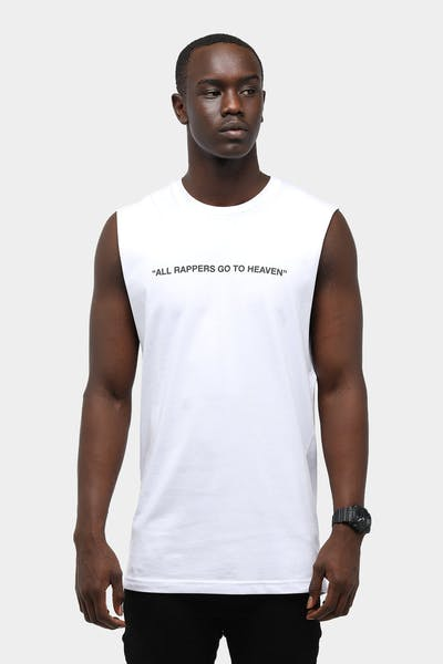 Rappers Go To Heaven Muscle Tee
