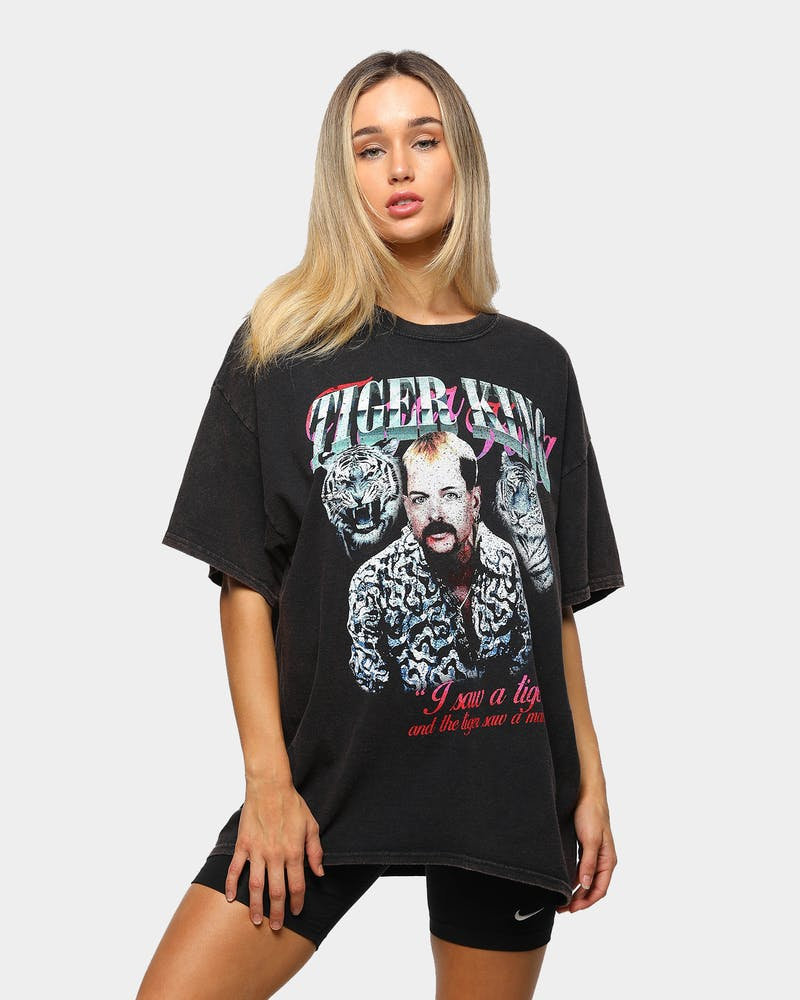 Goat Crew Men's Joe Exotic Vintage T-Shirt Black Wash