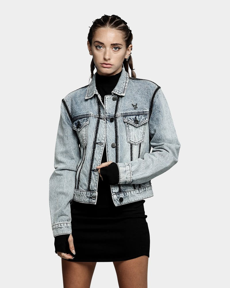 The Anti Order Women's Post Modern Denim Jacket Bleached Blue