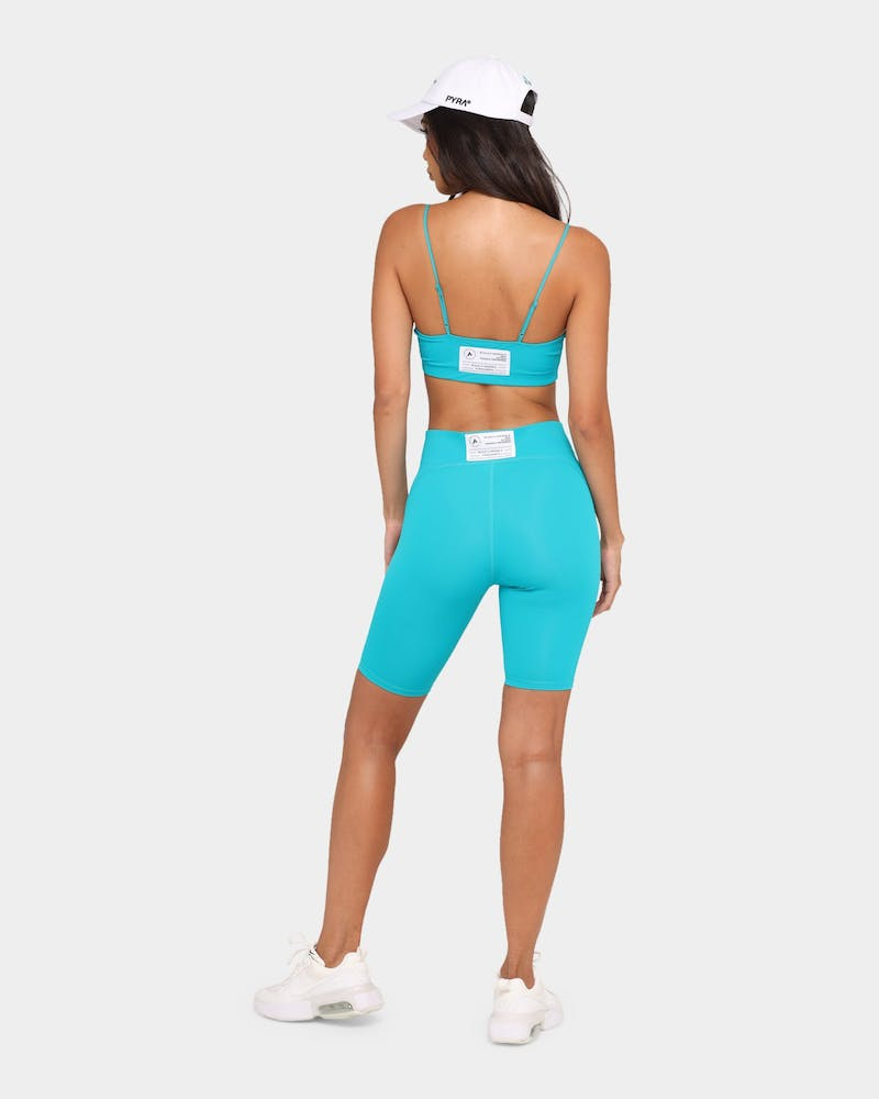 PYRA Women's Muse Crop Teal/Teal