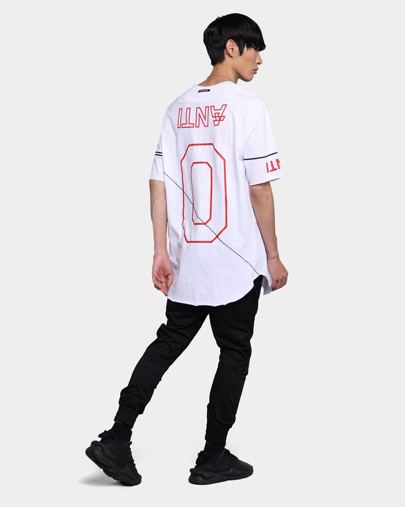 The Anti Order Chicvgo A4 Symmetry T-Shirt White/Red/Black