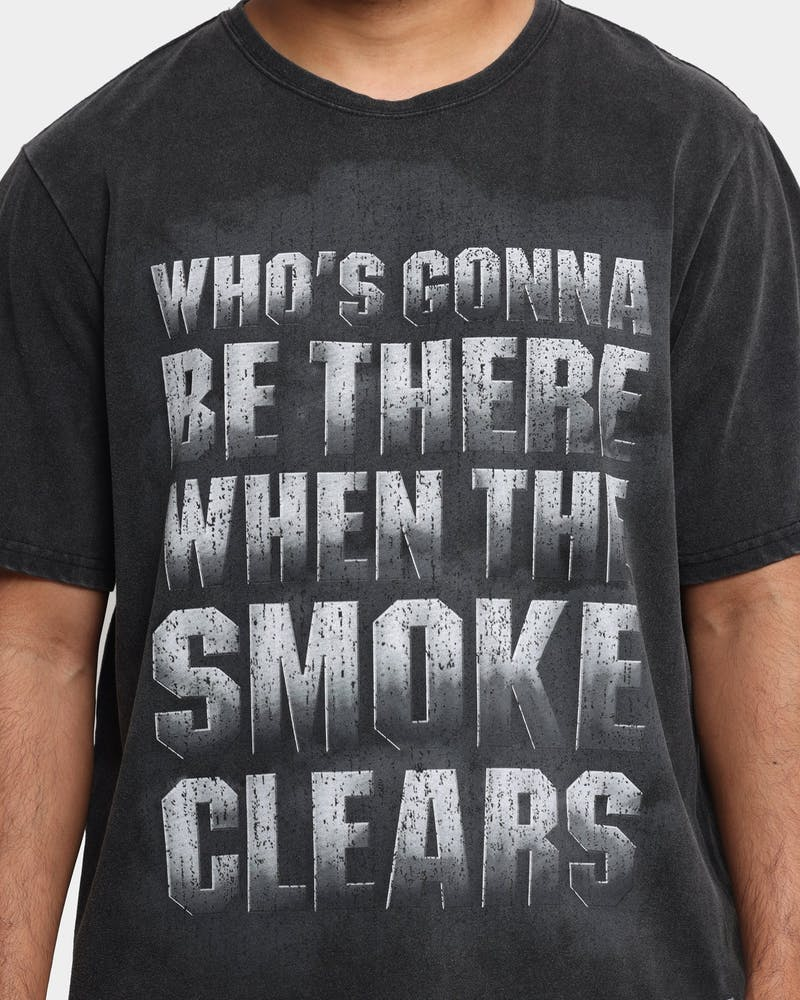 Starter Smoke Clears Vintage T-Shirt Washed Black