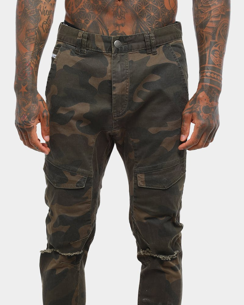 Nena And Pasadena Flight Elastic Ankle Jean Shanghai Camo