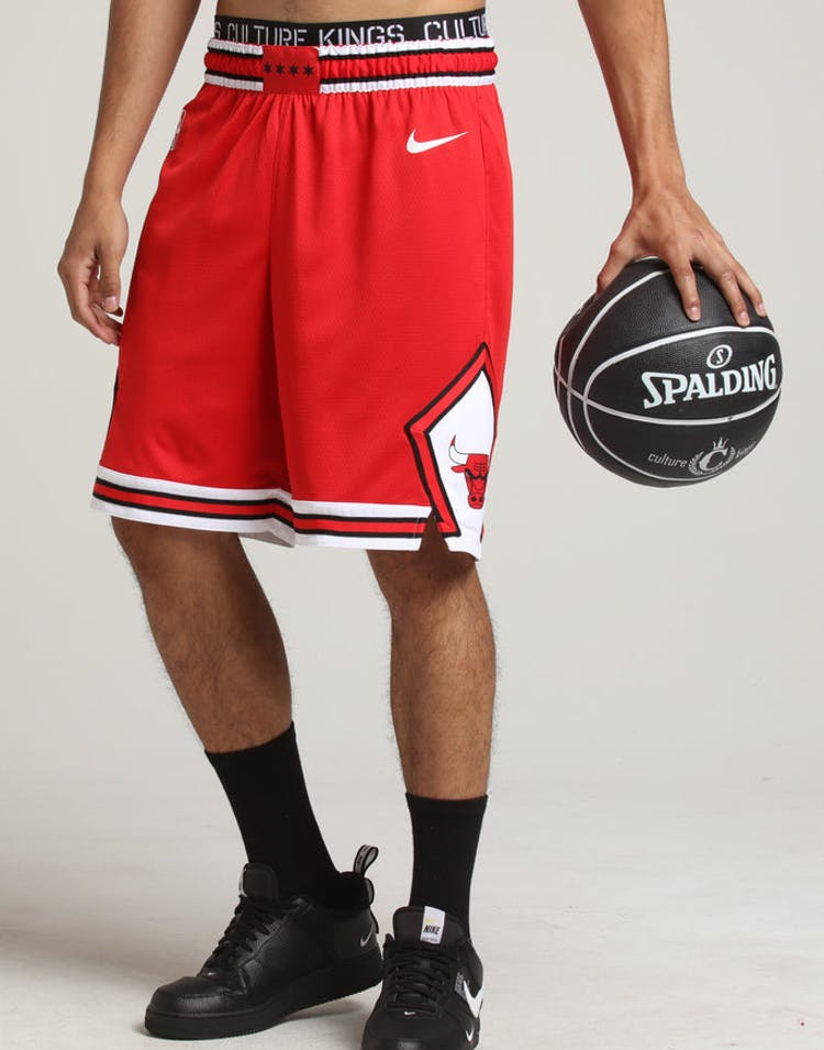 1454f7decef Chicago Bulls Nike Icon Edition Swingman Shorts Red White – Culture ...