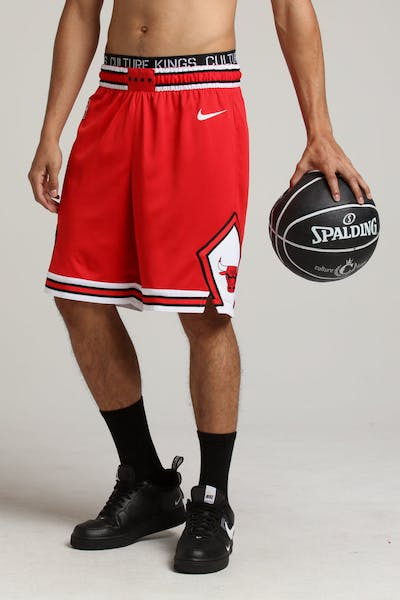 Chicago Bulls Nike Icon Edition Swingman Shorts Red/White