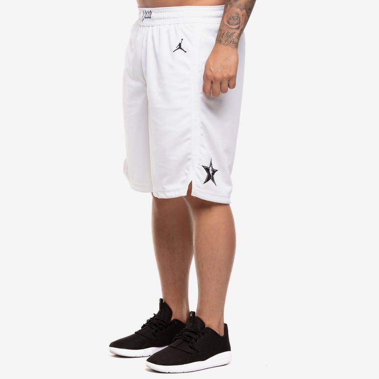 ae8f5a65e65c NBA All-Star Edition Swingman Shorts White – Culture Kings NZ
