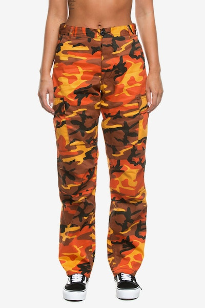 Rothco Women's Tactical BDU Pant Orange Camo