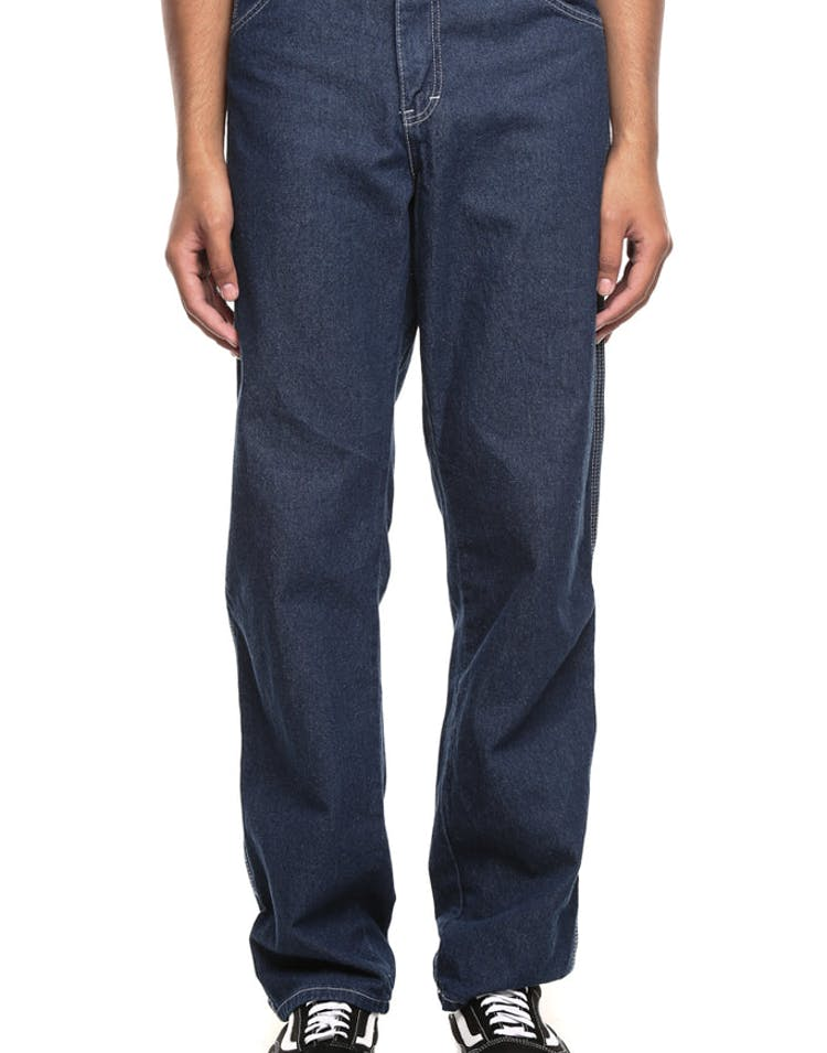 Dickies Relaxed Straight Fit Carpenter Denim Jeans Blue