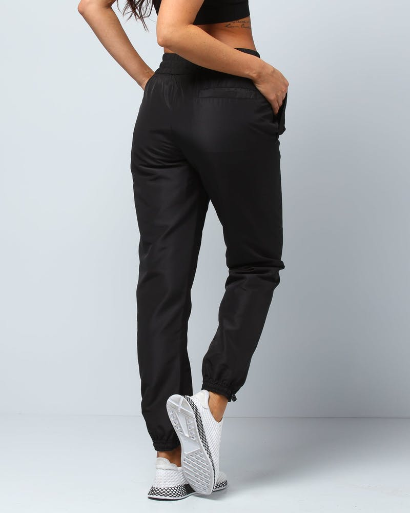Status Society Court Trackpant Black/Black
