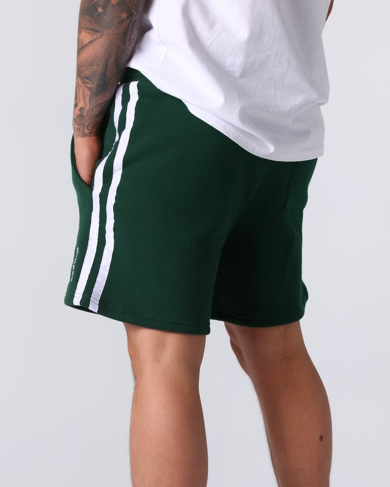 Stussy Blank Tape Short Green