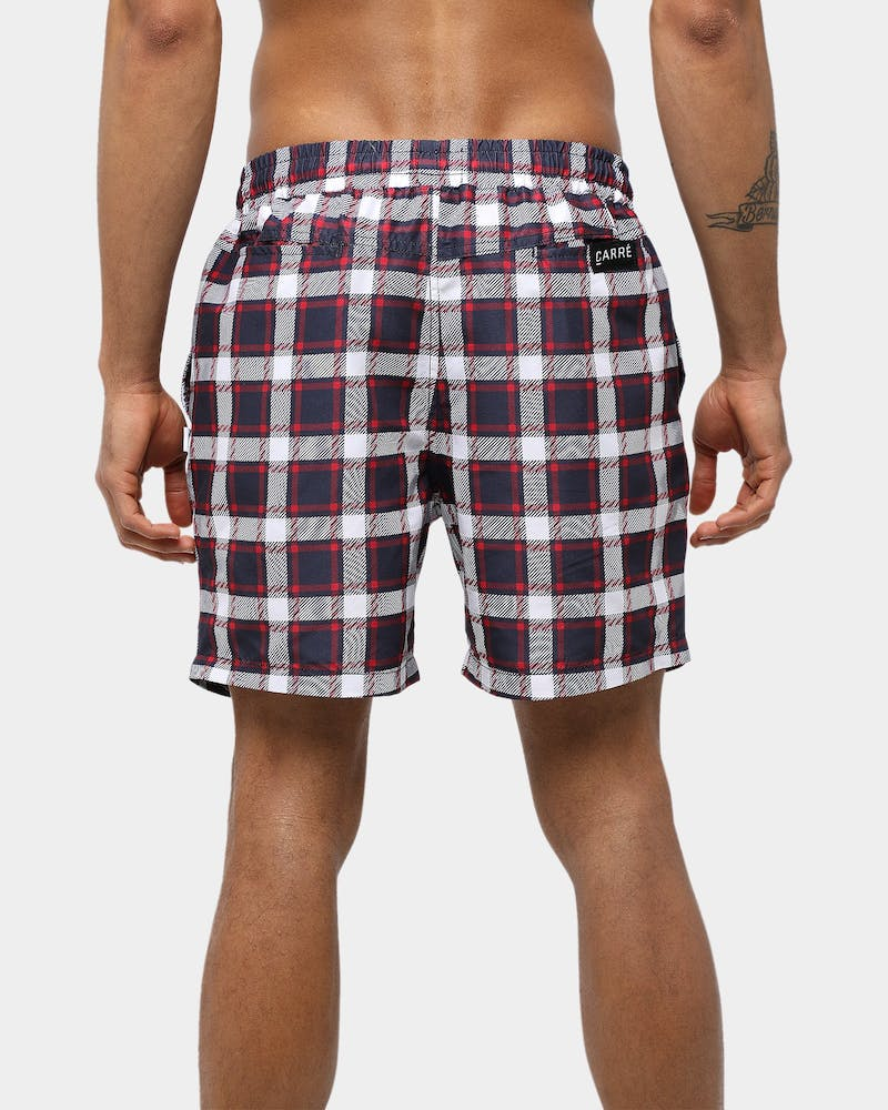 Carré Montagnes Essential Short Navy/White/Red