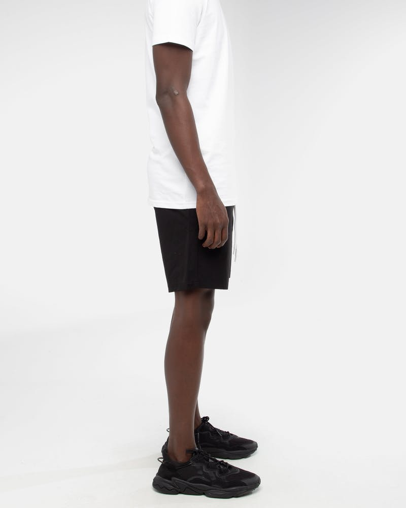 Last Kings Monogram Beach Shorts Black/White