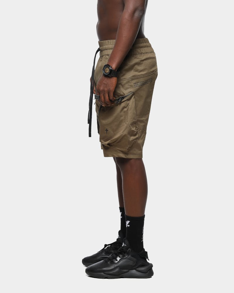 The Anti-Order Neo Military Short Army Green/Black