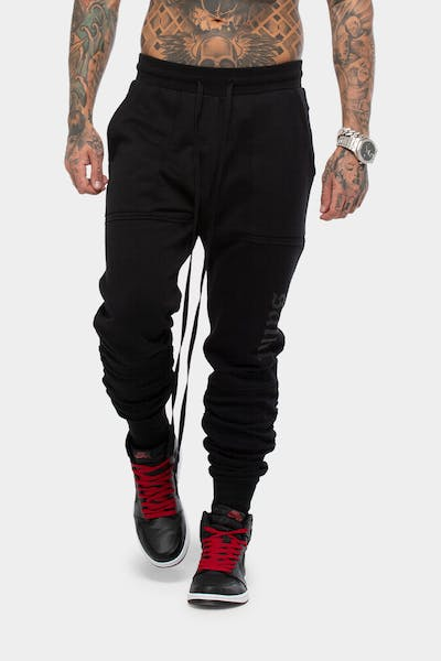 SAINT MORTA LOVELL X TRACKPANT BLACK/BLACK