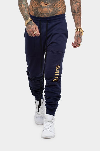 SAINT MORTA LOVELL X TRACKPANT NAVY/GOLD