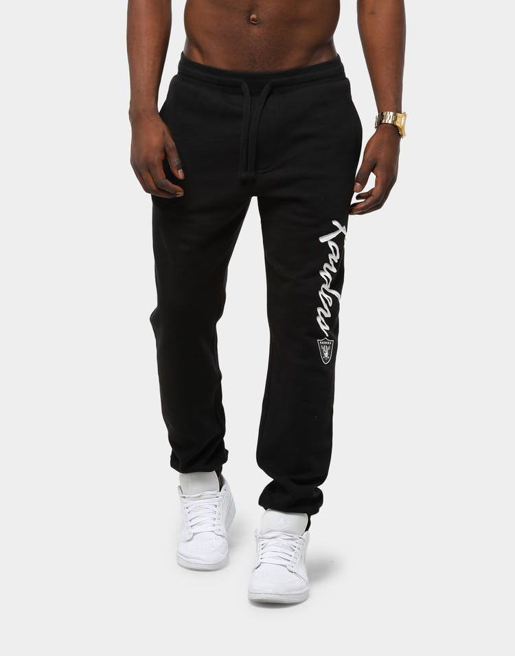 Majestic Athletic Men's Raiders Champs Sweat Pant Black