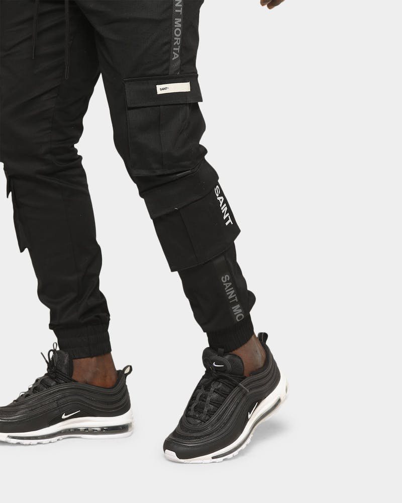 Saint Morta Men's Man Of War Jogger Black/Black