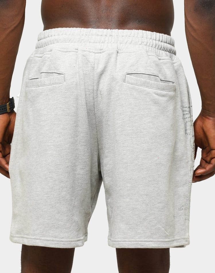 Lifted Anchors Men's Malware Sweat Shorts Grey