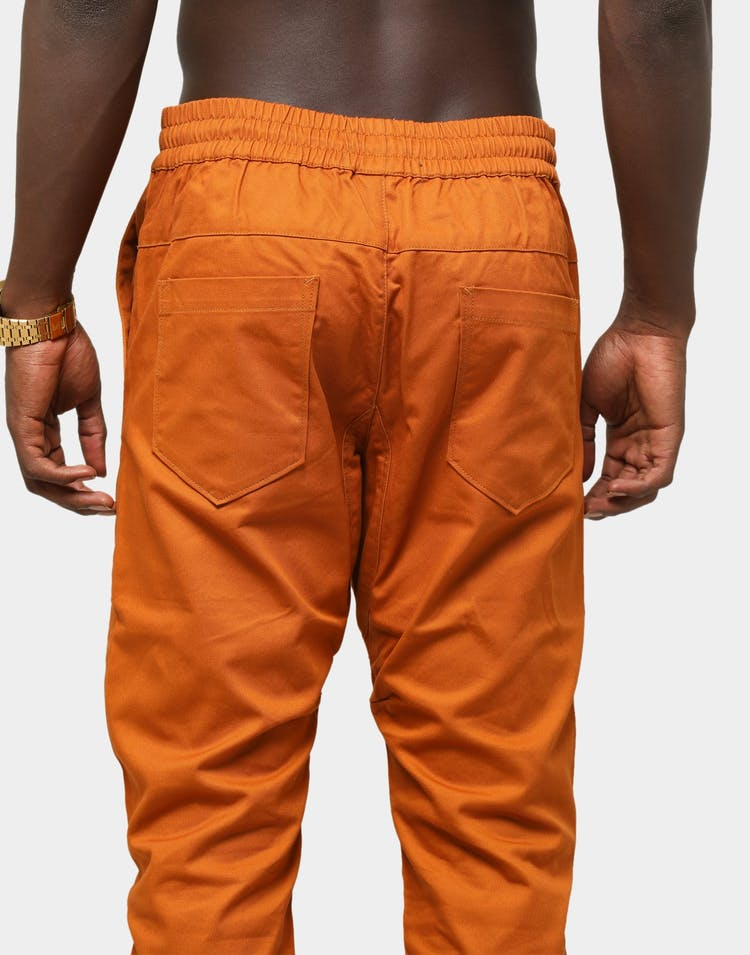 Lifted Anchors Men's Kloss Chino Pants Burnt Orange