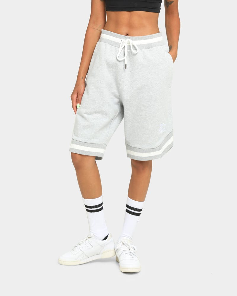 Starter Warm Up Shorts Grey Marle