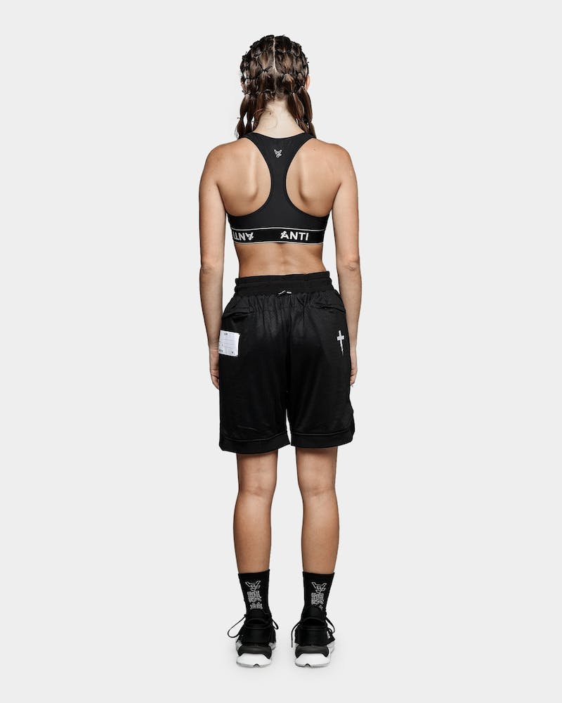 The Anti Order A8 Mesh Basketball Shorts Black/White