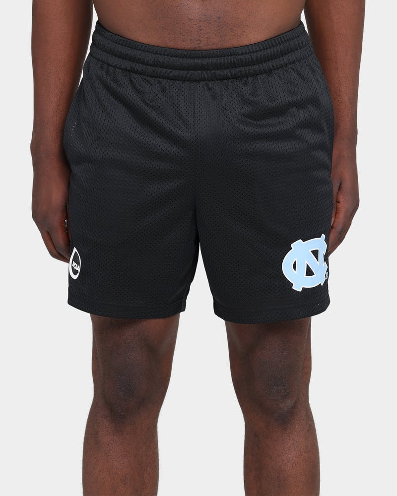 NATIONAL COLLEGIATE ATHLETIC ASSC UNC Basketball Training Shorts Black