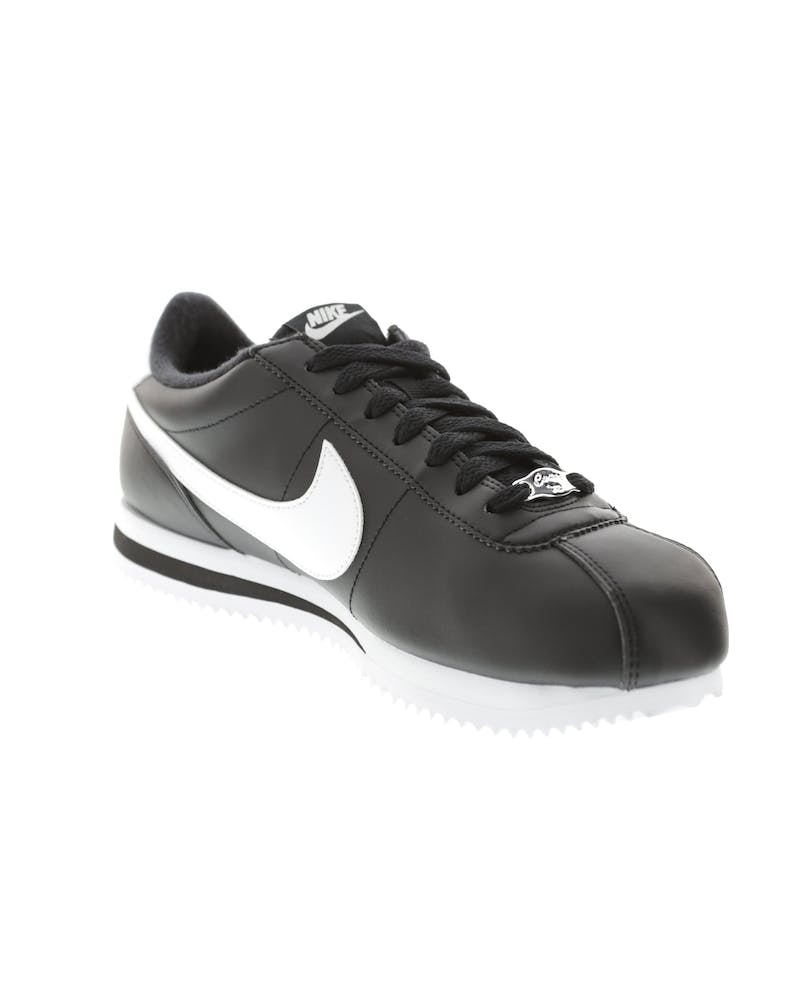 Cortez Basic Leather Black/white/sil