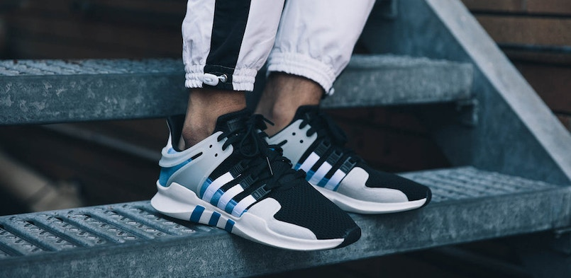 detailed look bdb81 a9c01 ... adidas Originals EQT Support ADV - Men BY9583 ... TPU medial support  piece External heel cage - Rubber outsole - Style code ...