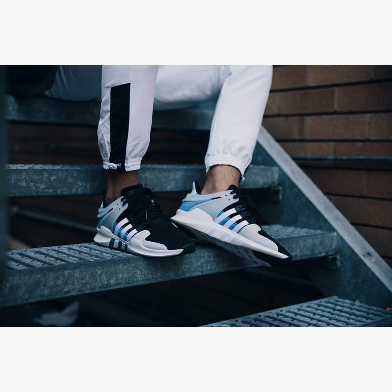 online store d4b5d bd81e Adidas Originals EQT Support ADV BlackWhiteBlue