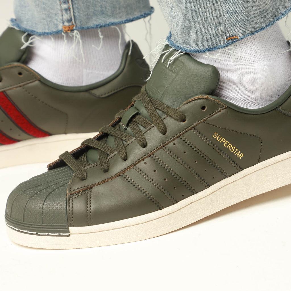Adidas Originals Superstar Dark Green