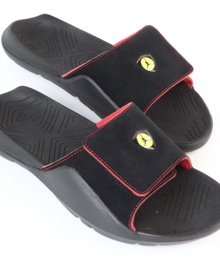3e7412fb3873 Jordan Hydro 7 Slide Black RedJordan Hydro 7 Slide Black Red