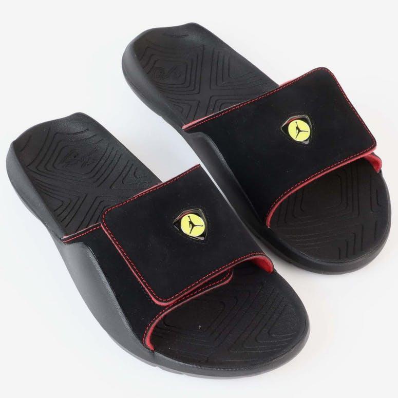 Jordan Hydro 7 Slide Black RedJordan Hydro 7 Slide Black Red b3ec7de65