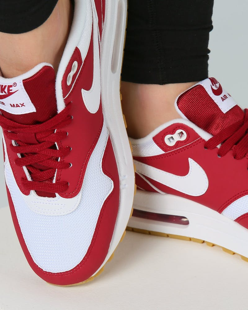 Nike Women's Air Max 1 Red/White/Gum